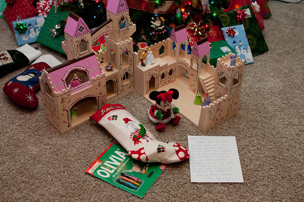 Santa brought Andrea the